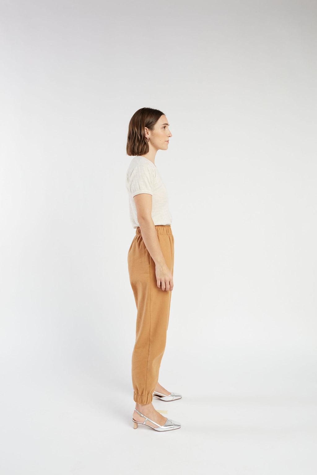 Emery pant in Camel