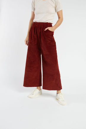 Avery pant in Brick
