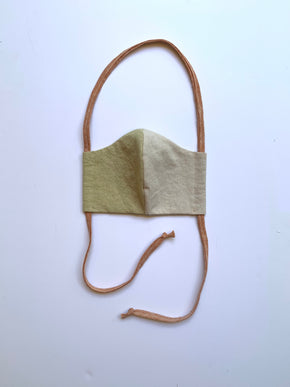 Cloth Mask in Citrus+Sand