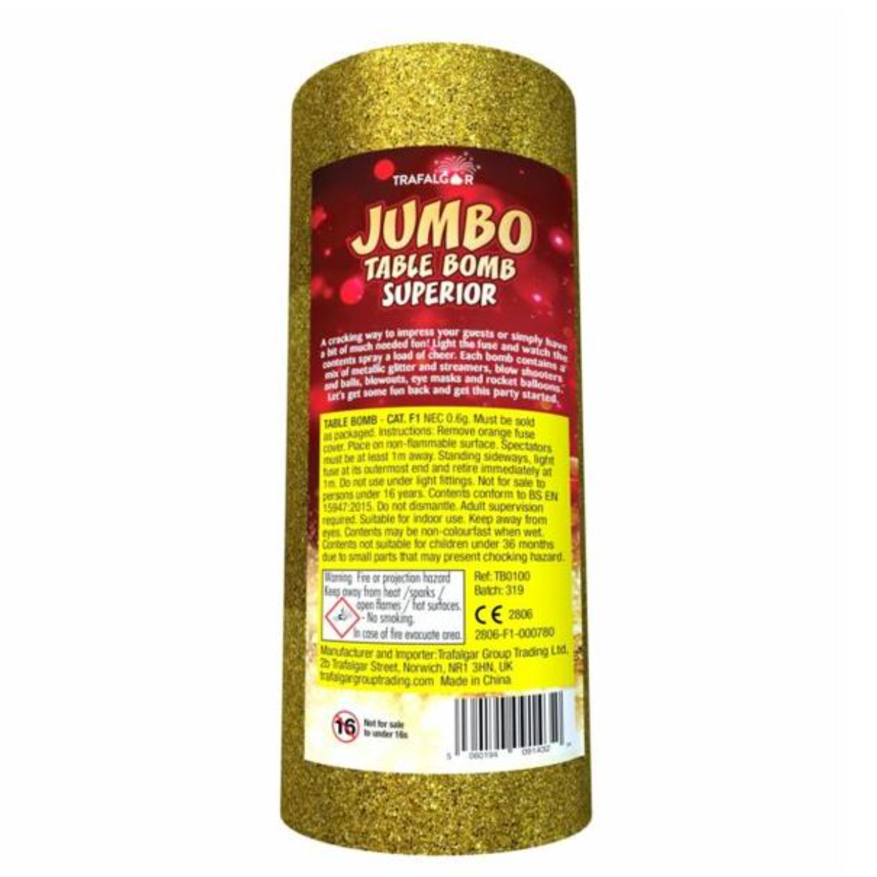 Jumbo Table Bomb Superior