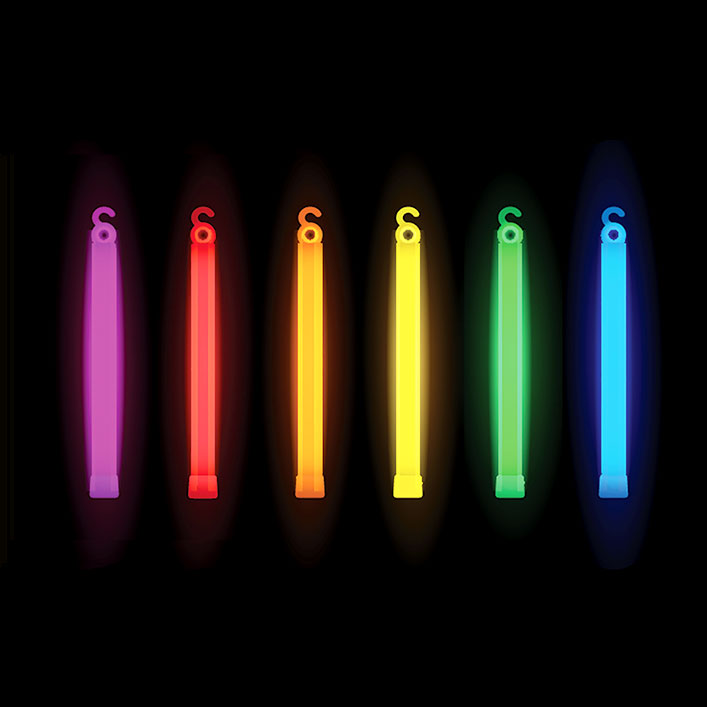 "6"" Glowsticks (x 50)"