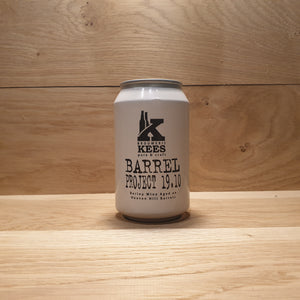 Kees Barrel Project 19.10