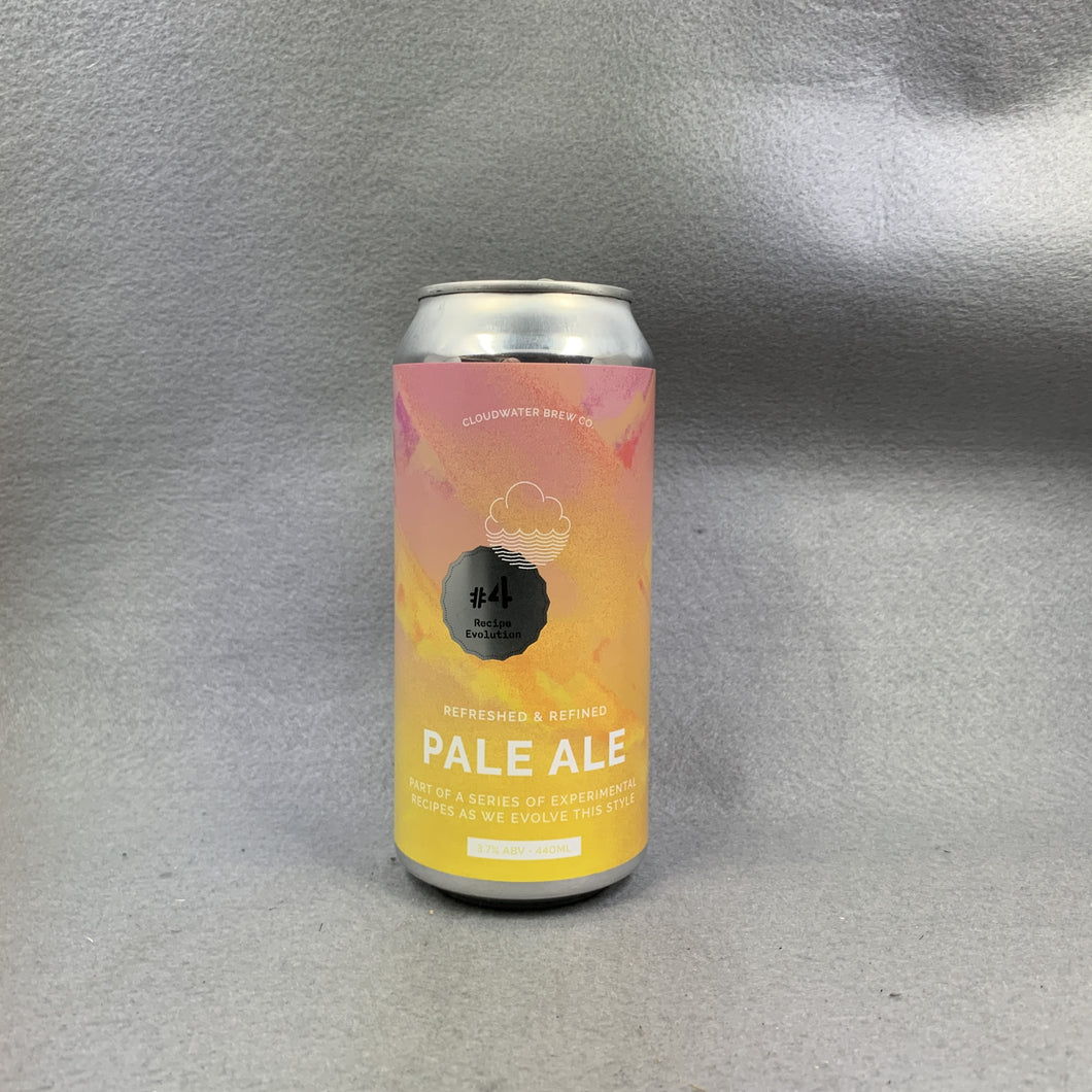 Cloudwater Pale Ale Recipe Evolution #4