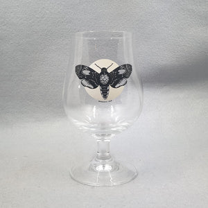 Beermoth Silhouette 1/2 glass