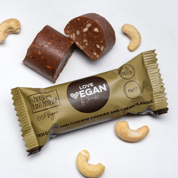 Rich Cacao, Cashew and Cookies & Cream Flavour High Protein Energy Bite