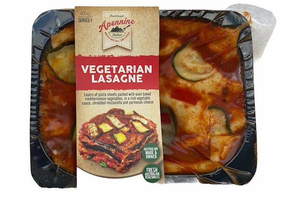 Vegetarian Lasagna (Single Serve)
