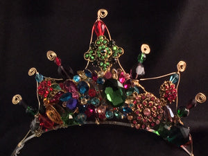 Multicolored Empress tiara