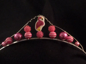 Mini Flamingo Tiara
