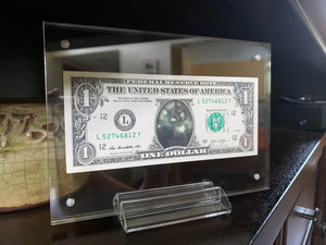 Dollar Bill Frame for You're on the Money Custom Dollar Bills