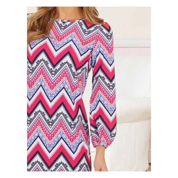 Jude Connally Chloe ZigZag Dress