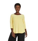 Sympli Go To Classic T Relax Top