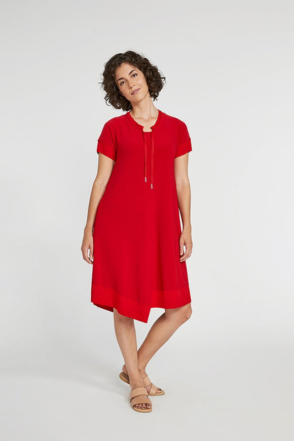 Sympli Jersey Motion Trim Dress