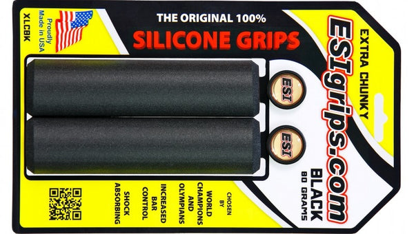 EXTRA CHUNKY SILICONE GRIPS - NEGRO