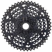 MICROSHIFT ADVENT CASSETTE - 9 SPEED, 11-46T, ED BLACK,STEEL