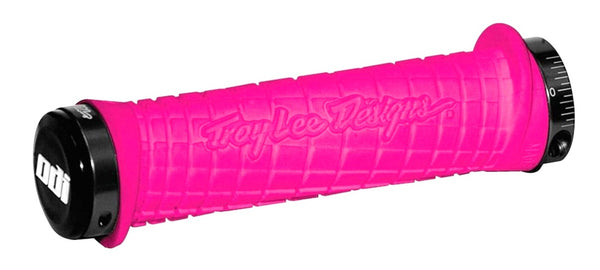 ODI TROY LEE DESIGNS LOCK ON GRIPS - ROSADO