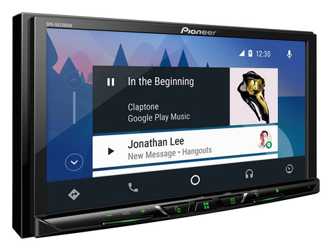 Pioneer SPH-DA230DAB Apple CarPlay Android Auto Media Unit