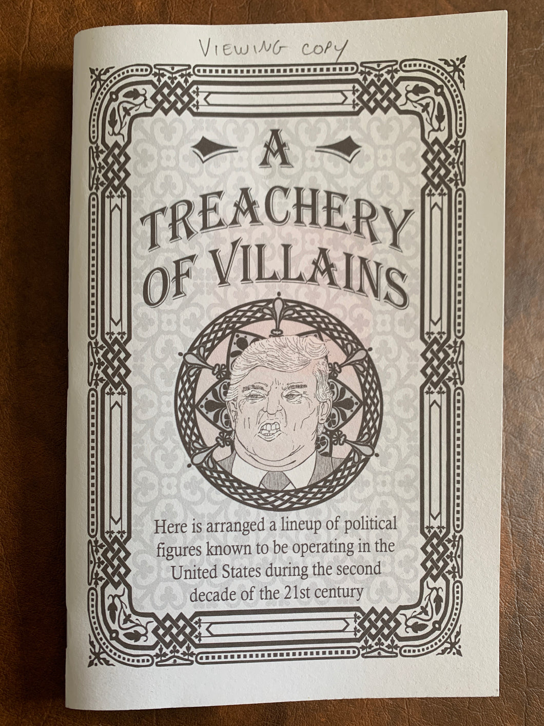 A Treachery of Villains