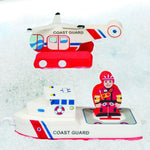 Bath Blocks: Coast Guard