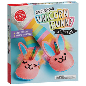 Unicorn Bunny Slipper Kit