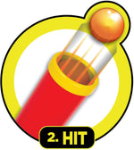 Pop 'N' Hit Baseball Bat