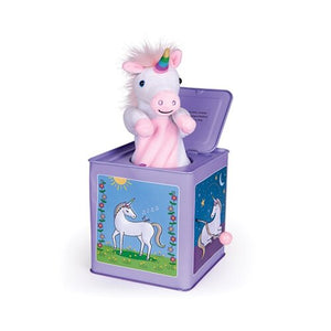 Unicorn Jack-in-the-box