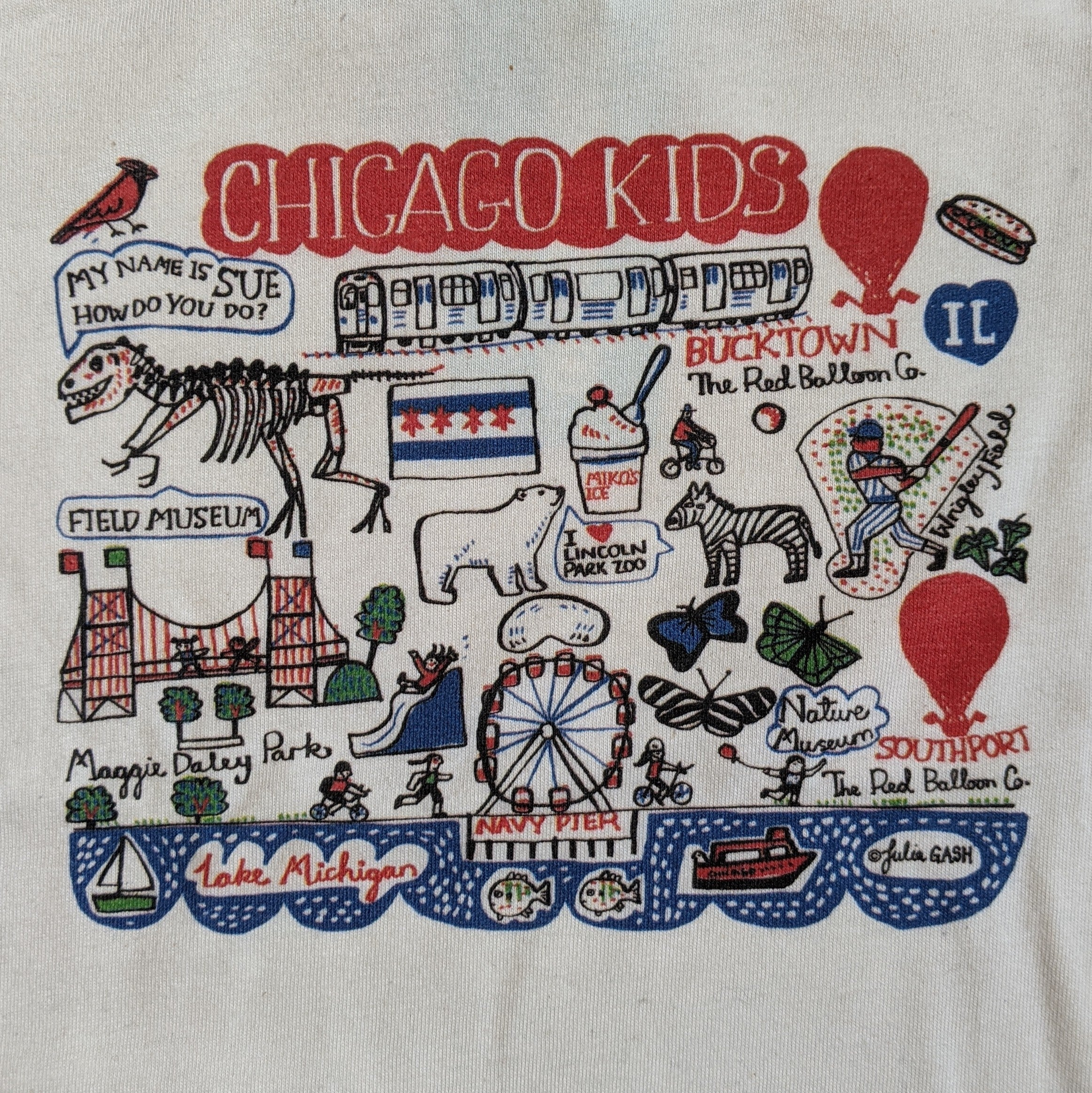 The Red Balloon Company: Chicago Tee