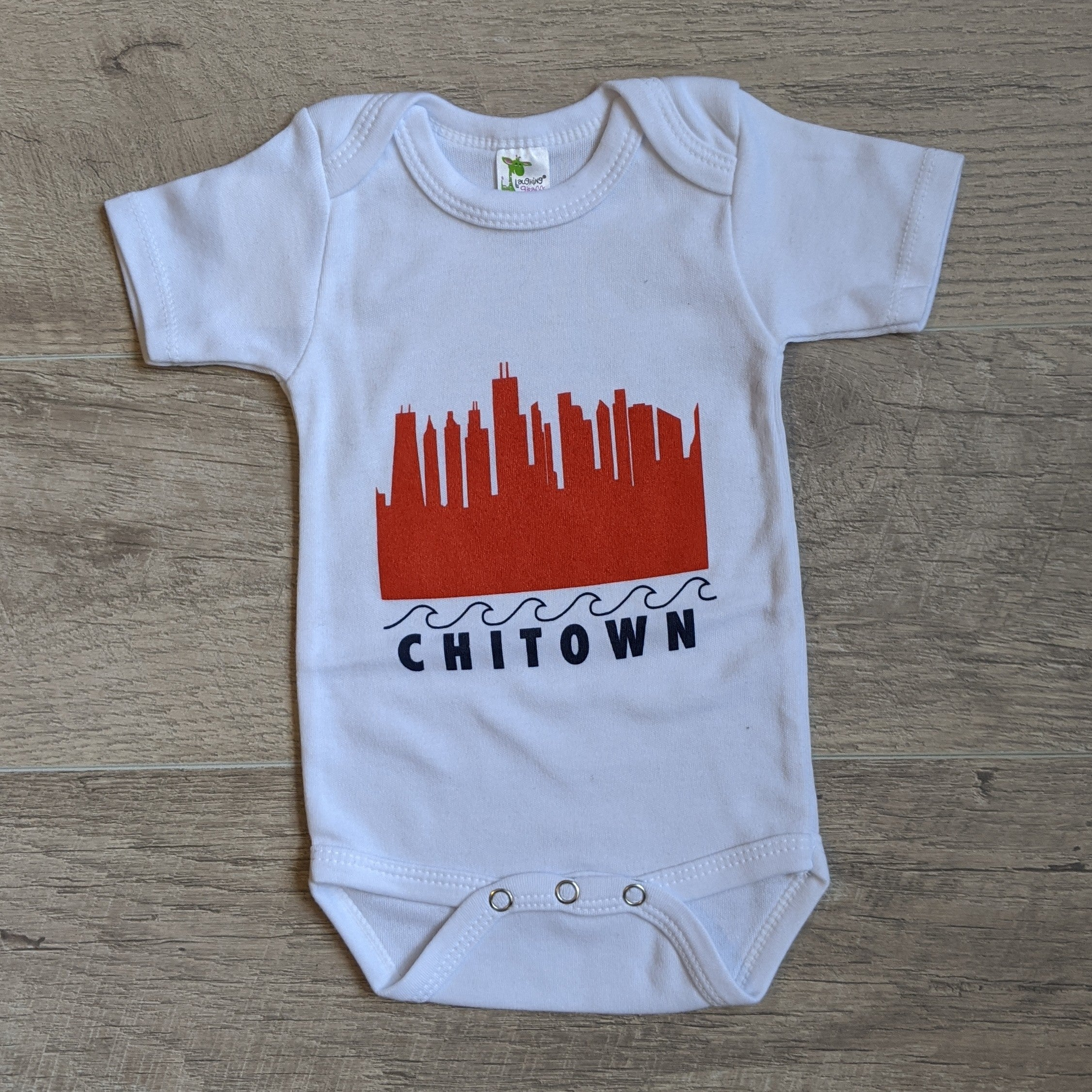 Skyline Wave Chicago Onesie