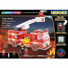 Laser Peg Fire Truck Set