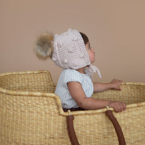Coco Dusty Rose Bonnet