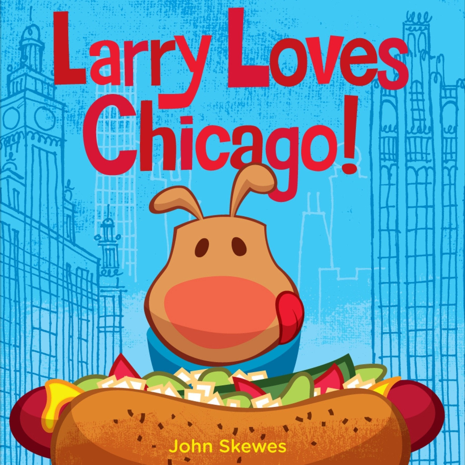 Larry Loves Chicago Board Book
