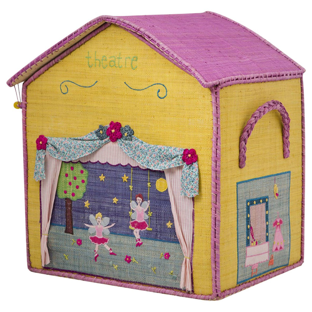 Theater Raffia Toy Box: Large