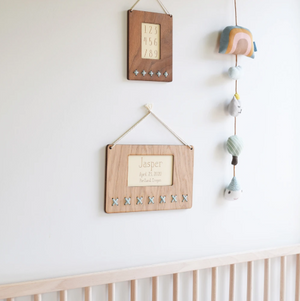 Kerri Lee Wood & Wool Wall Hanging