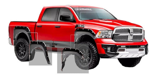 Kit Off Road Airdesign Dodge Ram 2013/17 Burrera Cantoneras