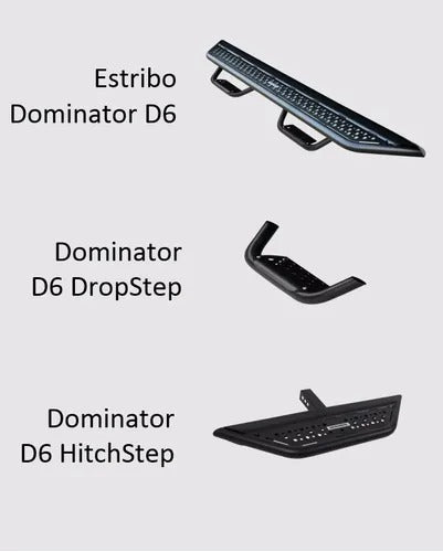 Estribos Dominator D6 Ford F150 Lobo 2015-2017