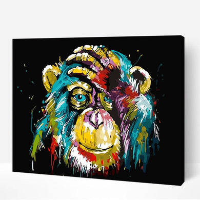 Colorful Monkey