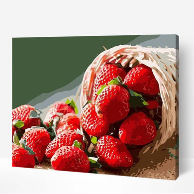 Basket Of Strawberry