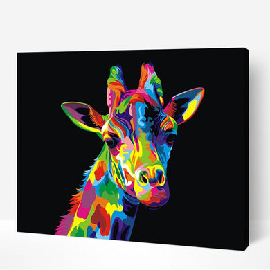 Colorful Giraffe