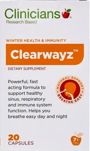 Clinicians Clearwayz Capsules 20s