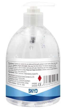Disinfect Plus Hand Sanitiser 500ml