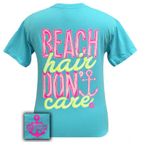 Girlie Girl Originals T-Shirt - Beach Hair Lagoon Blue - Comfort Colors