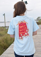 Anna Grace Tees T-Shirt - Alabama Cotton Home Sweet Home - Comfort Colors Tee