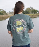 Anna Grace Tees T-Shirt - Alabama Just A Small Town Girl - Comfort Colors Tee