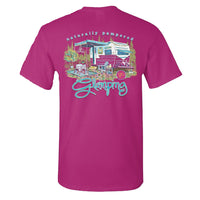 Sassy Frass T-Shirt - Glamping - Naturally Pampered - Comfort Color Tee