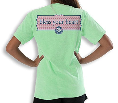 Itsa Girl Thing T-Shirt Bless Your Heart - Color Mint