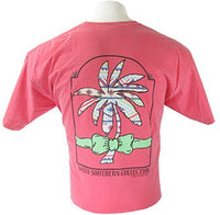 Sassy Frass Tees - Preppy Palm - Ladies T-Shirt - Comfort Colors