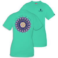 Simply Southern Tees Preppy T-Shirt - Live What You Love - Color Aruba