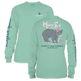 Simply Southern Tees Long Sleeve T-Shirt - Mama Bear - Color Fresh