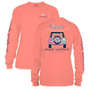 Simply Southern Tees Long Sleeve T-Shirt - Let's Be Besties - Jeep & Dog