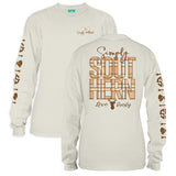 Simply Southern Tees Long Sleeve T-Shirt - Love Deerly - Color Pearl