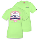 Simply Southern Tees Preppy T-Shirt - Royalty - Genuine Preppy Clothier - Color Limeaide